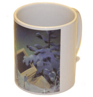 "Mug ""Computer in the Snow"""